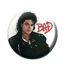 Michael Jackson Button