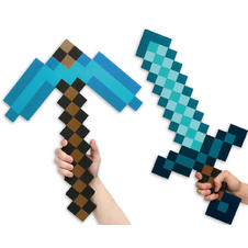 Minecraft Set Sword & Pickaxe
