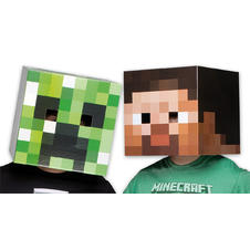Minecraft Mask set Creeper &