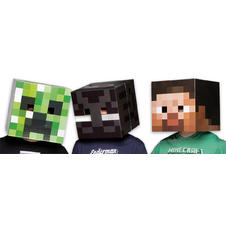 Minecraft Masken-Set Creeper,