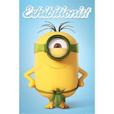 Minions Poster Exhibitionist