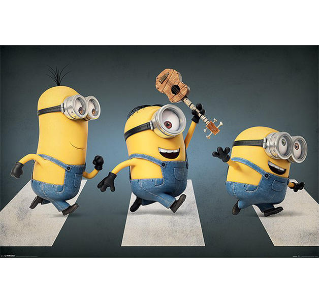 Minions Poster Abbey Road
