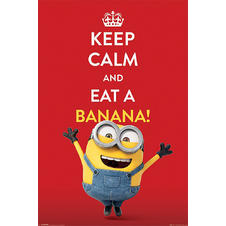 Minions Poster Keep calm and