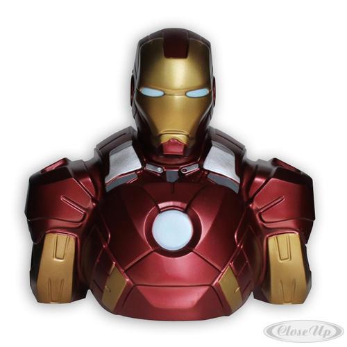 Marvel Deluxe Spardose Iron Man Büste - Sonstiges Merchandise