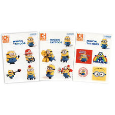 Minion Tattoo Set of 3