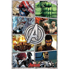 Marvel Poster The Avengers
