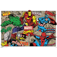 Marvel Comics Poster