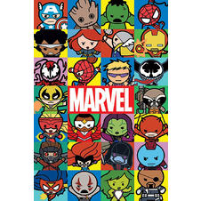 Marvel Poster Kawaii
