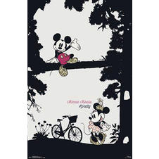 Mickey Mouse Poster Minnie