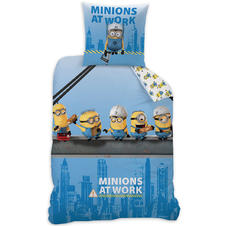 "Minions ""Take Over Manhattan"" Reversible Bedding"