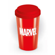 Marvel Travel Mug Logo