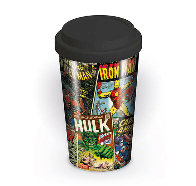 "Marvel Travel Mug ""Retro Comic"""