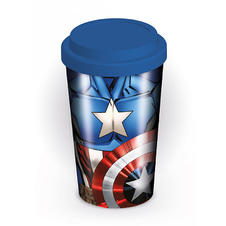 Marvel Travel Mug Captain