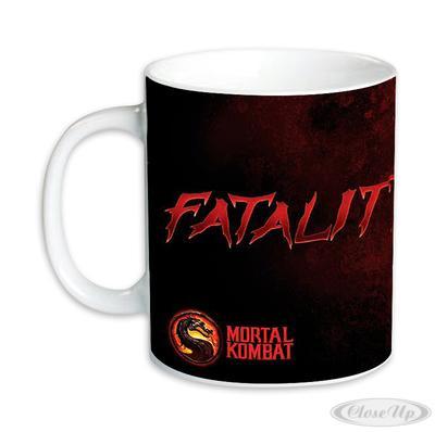 Mortal Kombat Tasse Fatality  - Angebot günstig kaufen