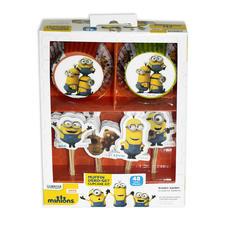 Minions Muffin Decoration Set -