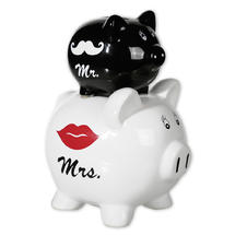 Mr. & Mrs. Piggy Bank