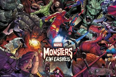 Marvel Poster Monsters Unleashed