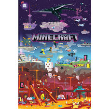 Minecraft Poster World Beyond