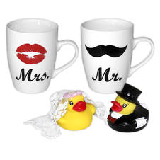 Mr.& Mrs. Mugs Set of 2