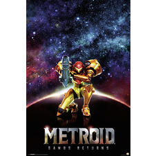 Metroid Samus Returns Poster