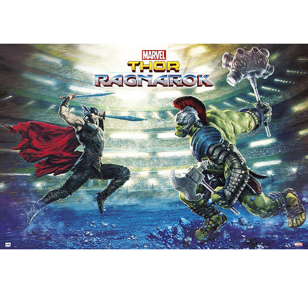 Marvel Thor Ragnarok Battle