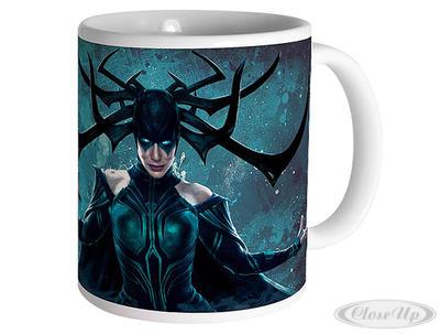 Marvel Thor Ragnarok Tasse Hela (Cate Blanchett) - broschei