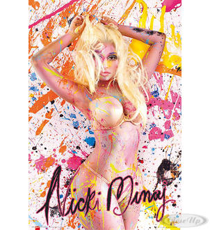 Nicki Minaj Poster Paint