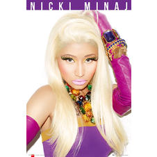 Nicki Minaj Poster Starships