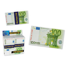 Notepads 100 Euro