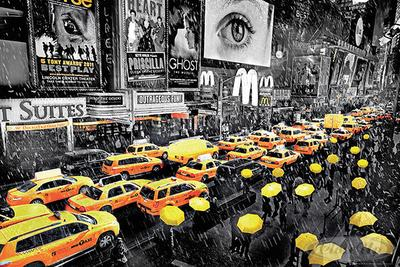 New York Poster Regenschirm