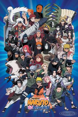 Naruto Poster Charaktere Shippuden