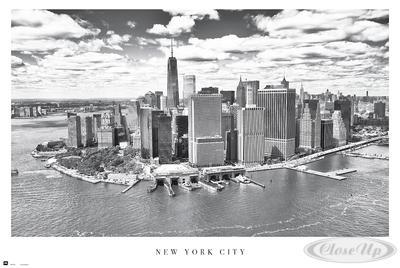 New York City Poster Skyline Manhattan