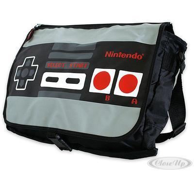 Nintendo NES Controller Messenger Bag