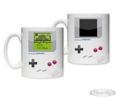 Nintendo Gameboy Thermoeffekttasse Gameboy