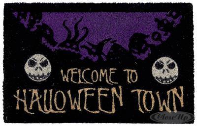 Nightmare Before Christmas Fußmatte Halloween Town jetztbilligerkaufen