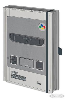 Nintendo Premium Notizbuch DIN A5 Super jetztbilligerkaufen