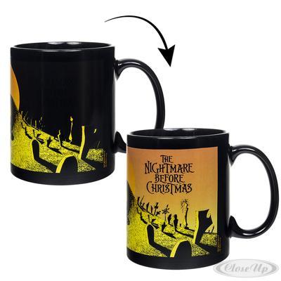 Nightmare Before Christmas Thermoeffekt Tasse Graveyard jetztbilligerkaufen
