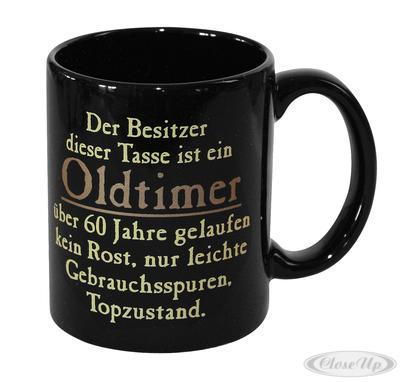 Oldtimer Tasse 60 Jahre gelaufen