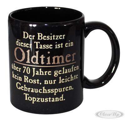 Oldtimer Tasse 70 Jahre gelaufen