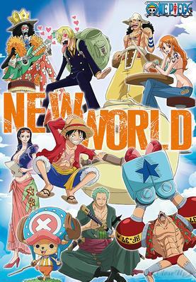 One Piece Poster New World | Dekoration > Bilder und Rahmen > Poster