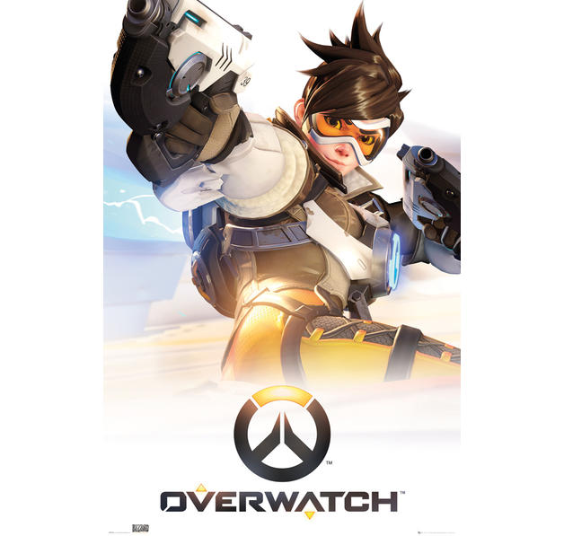 Overwatch Poster - Tracer