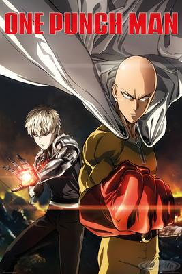 One Punch Man Poster Destruction