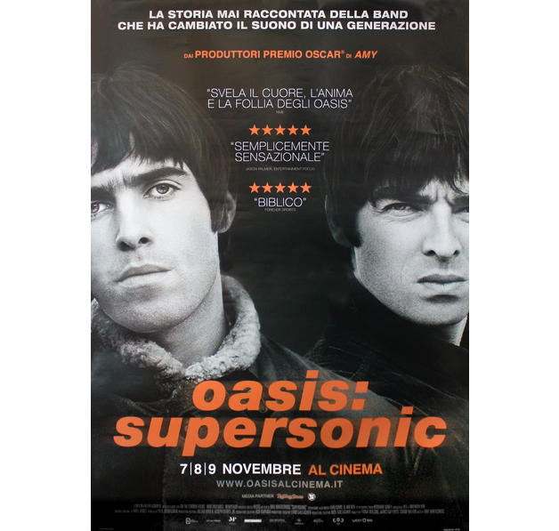 Oasis Poster - Supersonic