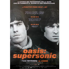 Oasis Poster Supersonic