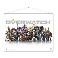 Overwatch Wallscroll