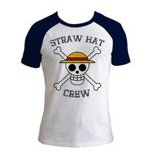 One Piece T-Shirt Straw Hat