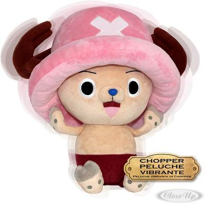 One Piece Plüschfigur Chopper Vibrationsfunktion   Kinderzimmer > Spielzeuge > Stofftiere