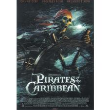 Pirates of the Caribbeans Poster