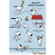 Peanuts Snoopy World Games