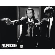 Pulp Fiction Poster Guns